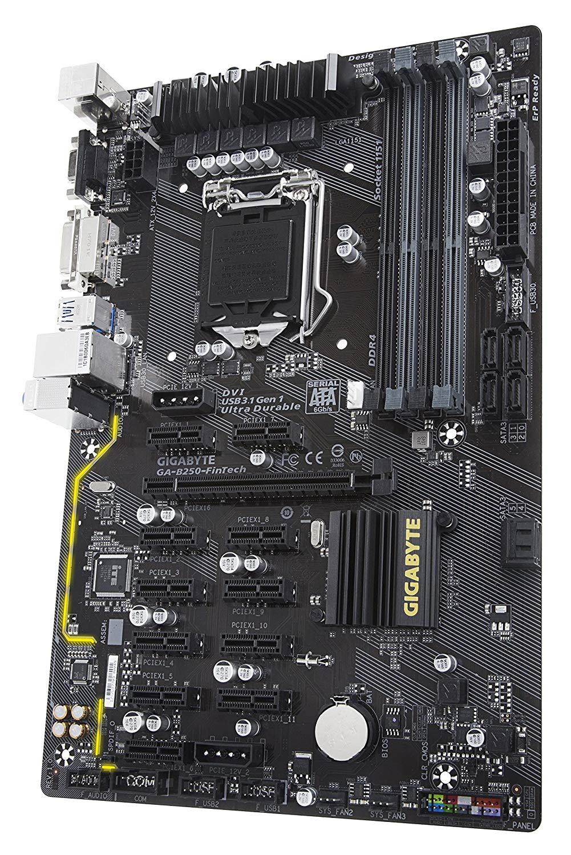 Gigabyte GA-B250-FinTech LGA 1151